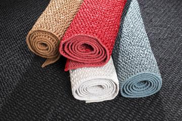 four colour of carpet