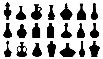 potion silhouettes