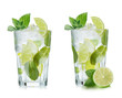 Leinwandbild Motiv Mojito isolated