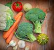 Broccoli and cauliflower are good antioxidants