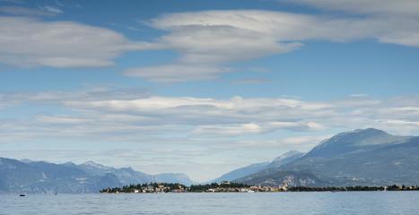 peninsula of Sirmione on the Lake Garda