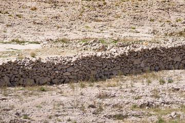 dry stone walls, Pag island Croatia