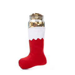 Nikolausstiefel mit Geld
