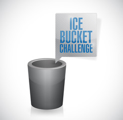 ice bucket challenge illustration design