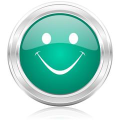 smile internet icon