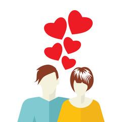 Love card template