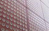 Facade of a modernist building poster