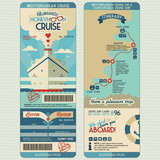 Honeymoon cruise boarding pass - 69681207