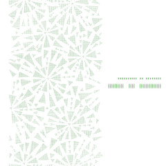 green abstract triangles textile texture horizontal frame