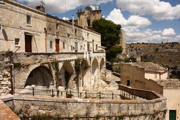Panorama borgo di Matera