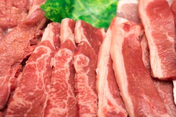 焼肉のお肉