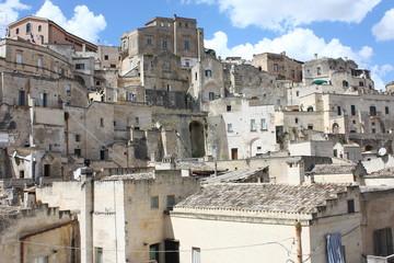Paesaggio del paese di Matera