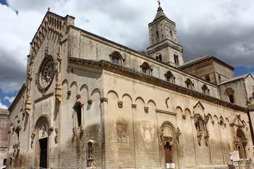 Cattedrale di Matera intero edificio