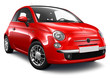 Small red car - 69683673