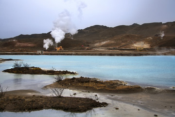 Bjarnarflag Geothermal Power Station - Iceland
