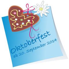 Reminder Oktoberfest