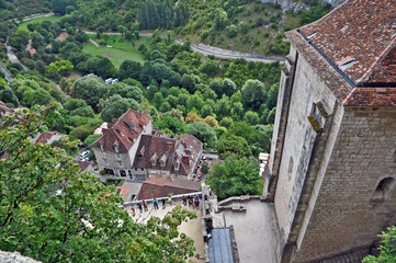 il villaggio di Rocamadour - Francia