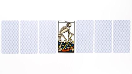 Tarot card death draw