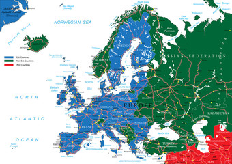 Europe road map