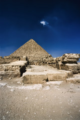 Egypt, Cairo, Micherino Pyramid - FILM SCAN