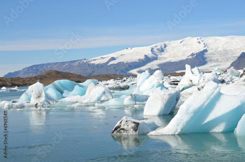 Foto op Aluminium Gletsjers Исландия, ледниковая лагуна Йокюлсаурлоун