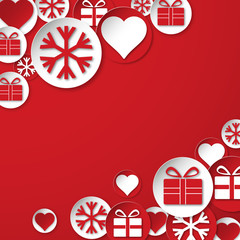 Abstract vector background Christmas