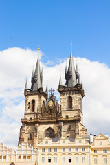 facade Tyn cathedral