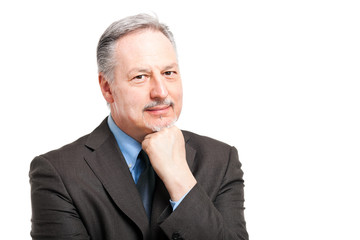 Mature businessman portrait