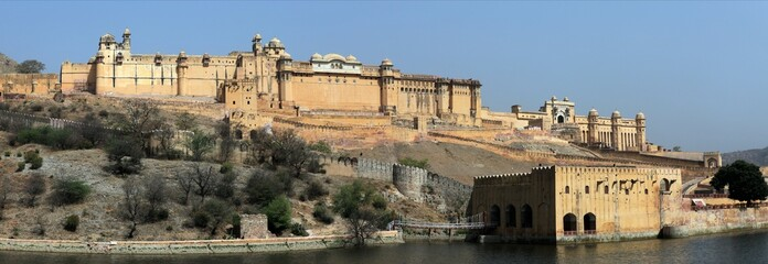 Amber Palace bei Jaipur in Indien