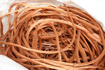 Copper wire raw material in the energy industry