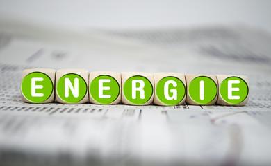 Würfel mit Energie