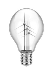 Wind power lightbulb