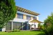 Leinwanddruck Bild - Beautiful modern house