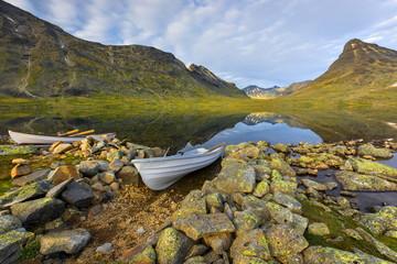 Krajobraz wiejski , Norwegia, Jutenheimen