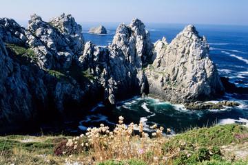 falesie scogliera di punta pen hir penisola di camaret