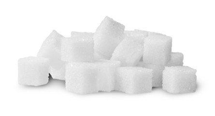 Pile Of Sugar Cubes Rotated