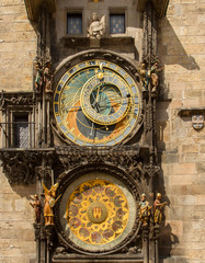 Astronomical Clock, Prague. Czech Republic.