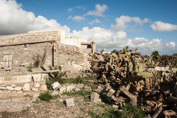 stone ruins almeria