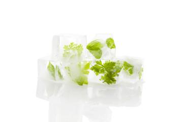 Frozen herbs.