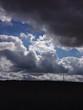 canvas print picture - Regenwolken