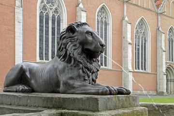 Der Löwenbrunnen in Braunschweig