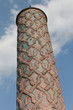 The Minaret of Yakutiye Madrasah in Erzurum, Turkey.