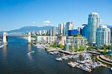 "Постер, картина, фотообои ""Beautiful view of Vancouver, British Columbia, Canada"""