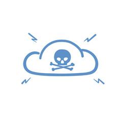 Internet cloud hacked