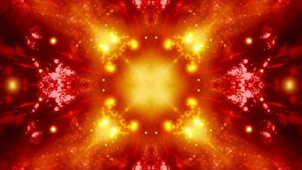 Abstract Cosmic Burn VJ Looping Animated Background