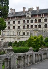 Blois Franz Fassade des Schlosses