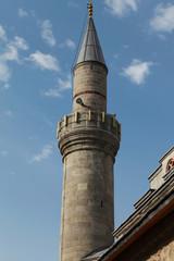 The Minaret of Caferiye Mosque in Erzurum, Turkey.