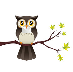 Owl With A Letter