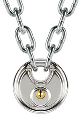 disc lock and chain
