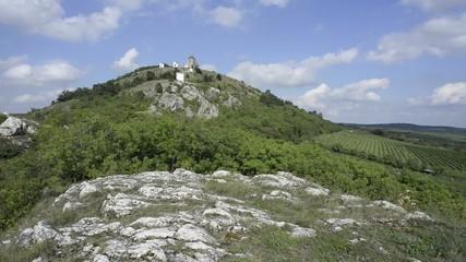 Mikulov UNESCO Holy Hill timelapse